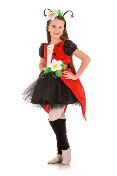 Божья коровка «Кокетка» карнавальный костюм для девочки