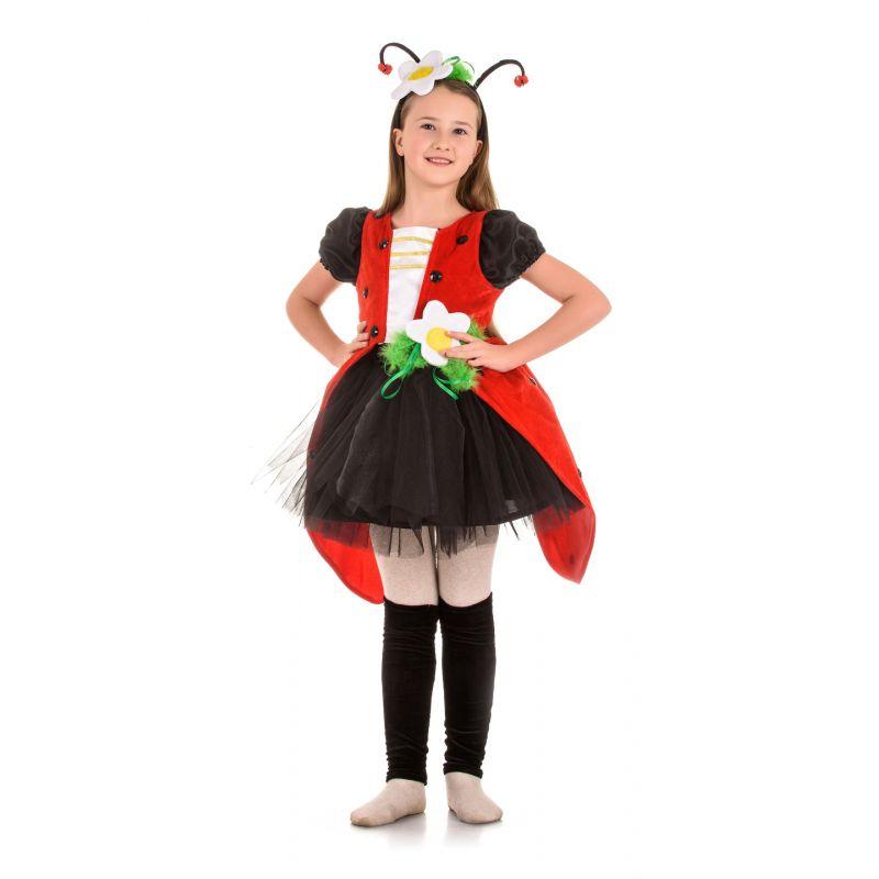 Масочка - Божья коровка «Кокетка» карнавальный костюм для девочки / фото №1465