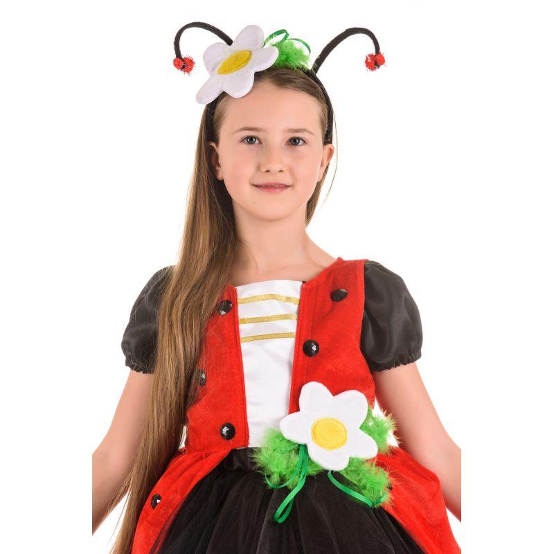 Масочка - Божья коровка «Кокетка» карнавальный костюм для девочки / фото №1466