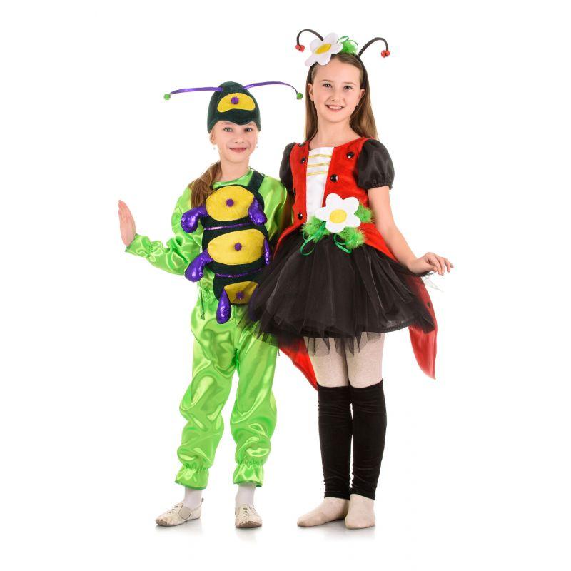 Масочка - Божья коровка «Кокетка» карнавальный костюм для девочки / фото №1467