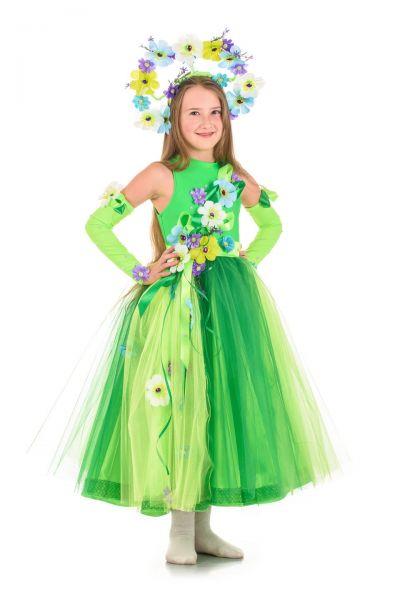 Весна «Неженка» карнавальный костюм для девочки