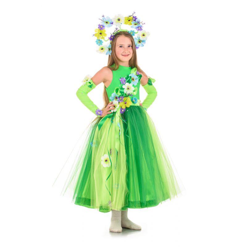 Масочка - Весна «Неженка» карнавальный костюм для девочки / фото №1469