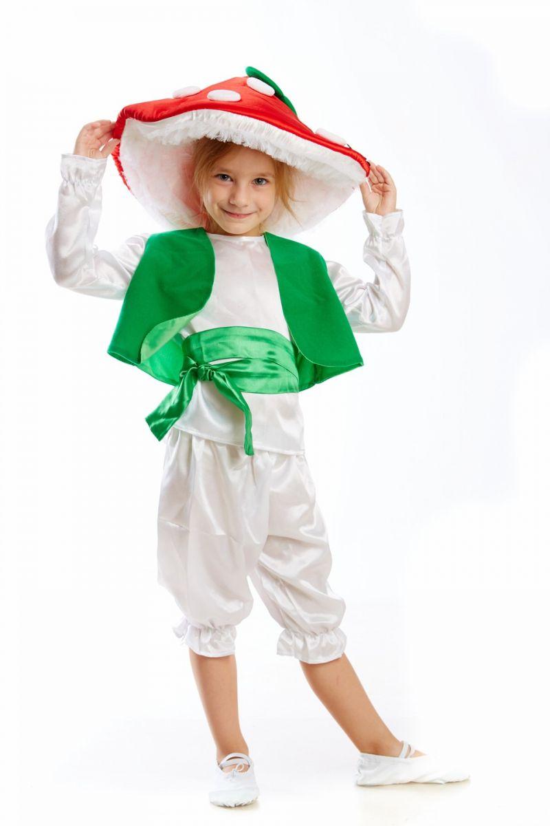 Гриб «Мухомор» карнавальный костюм для мальчика