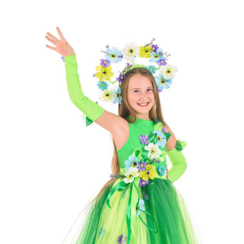 Масочка - Весна «Неженка» карнавальный костюм для девочки / фото №1470