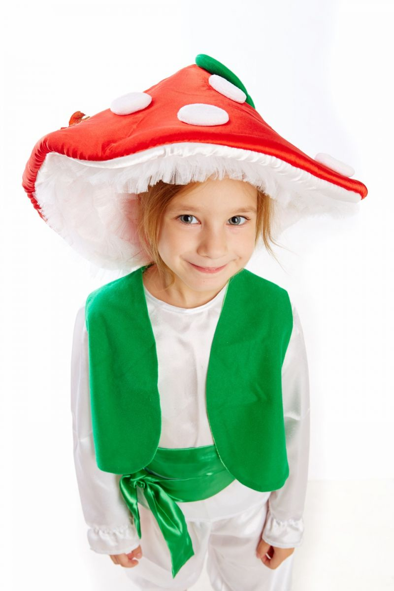 Масочка - Гриб «Мухомор» карнавальный костюм для мальчика / фото №148