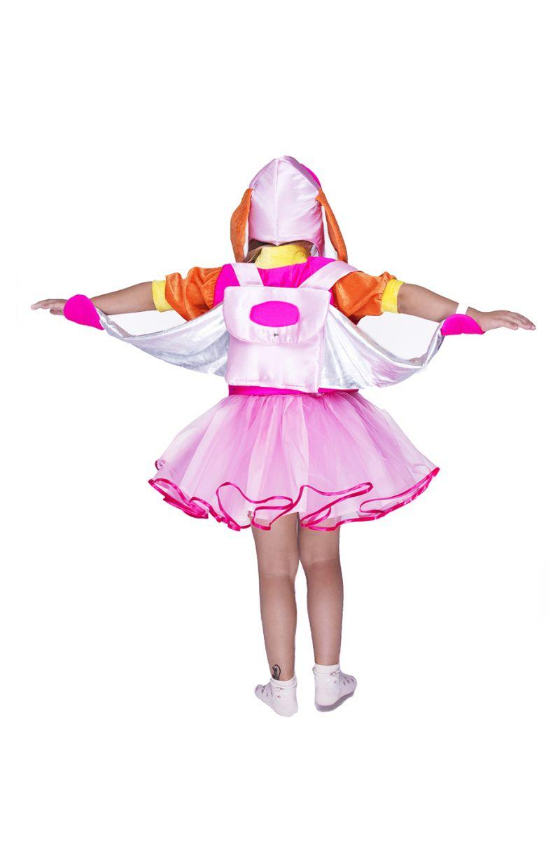 """Масочка - Скай с рюкзаком """"Щенячий патруль"""" карнавальный костюм для девочки / фото №1483"""