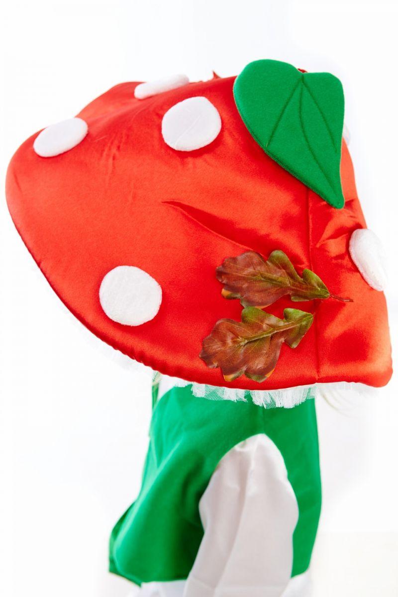 Масочка - Гриб «Мухомор» карнавальный костюм для мальчика / фото №149