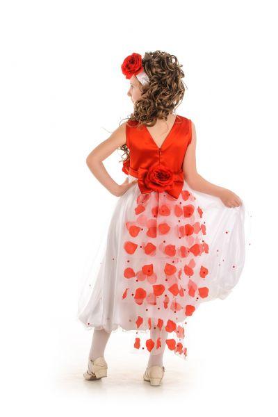 «Хвост кометы» нарядное платье для девочки