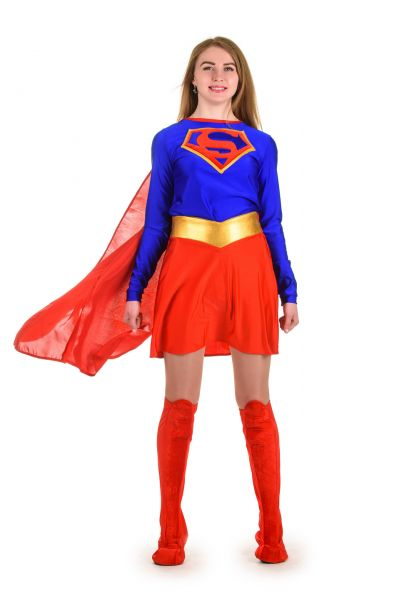 «Superwoman» карнавальный костюм для взрослых