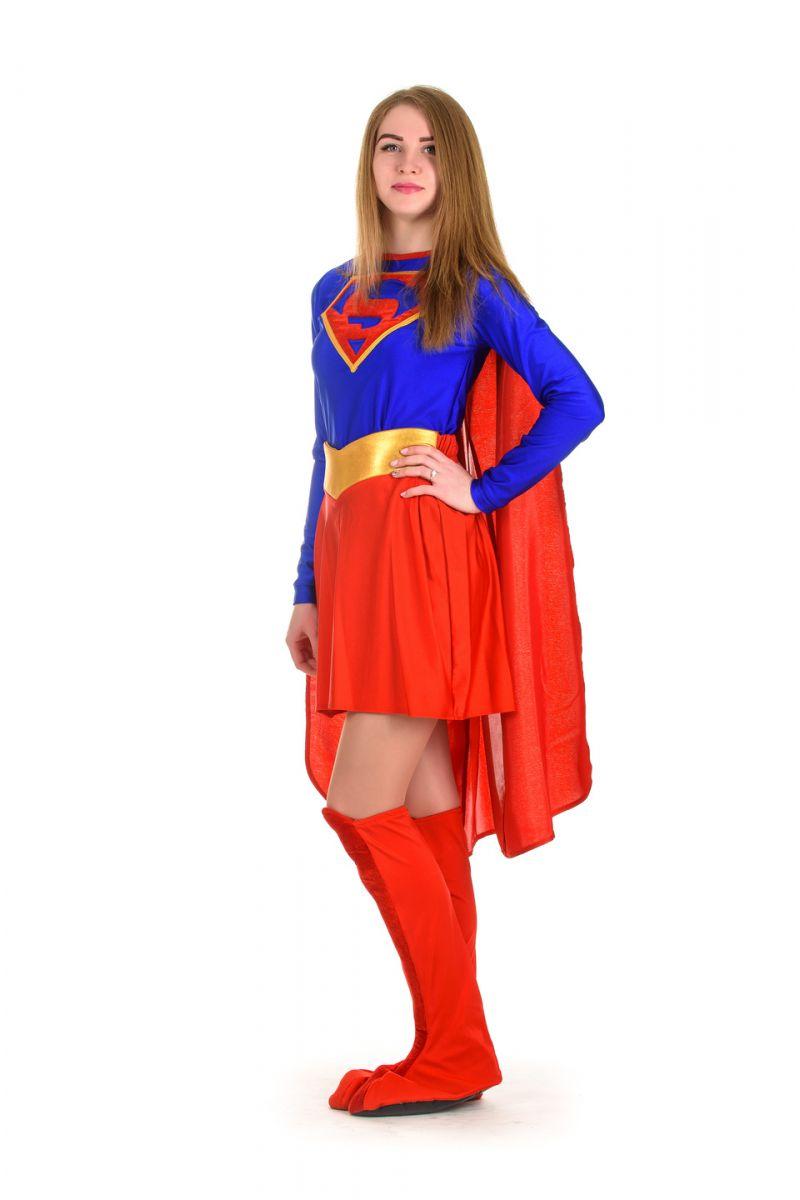 Масочка - «Superwoman» карнавальный костюм для взрослых / фото №1506