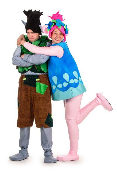 Тролль «Розочка» карнавальный костюм для взрослых