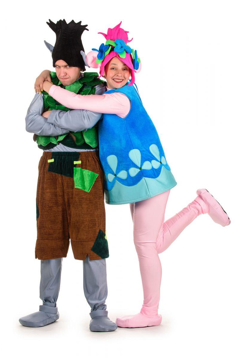 Масочка - Тролль «Розочка» карнавальный костюм для взрослых / фото №1508