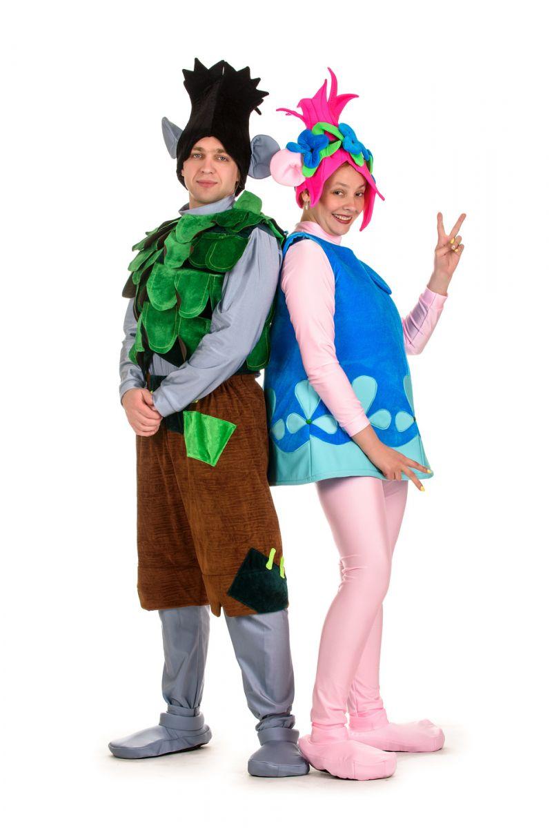 Масочка - Тролль «Цветан» карнавальный костюм для взрослых / фото №1510