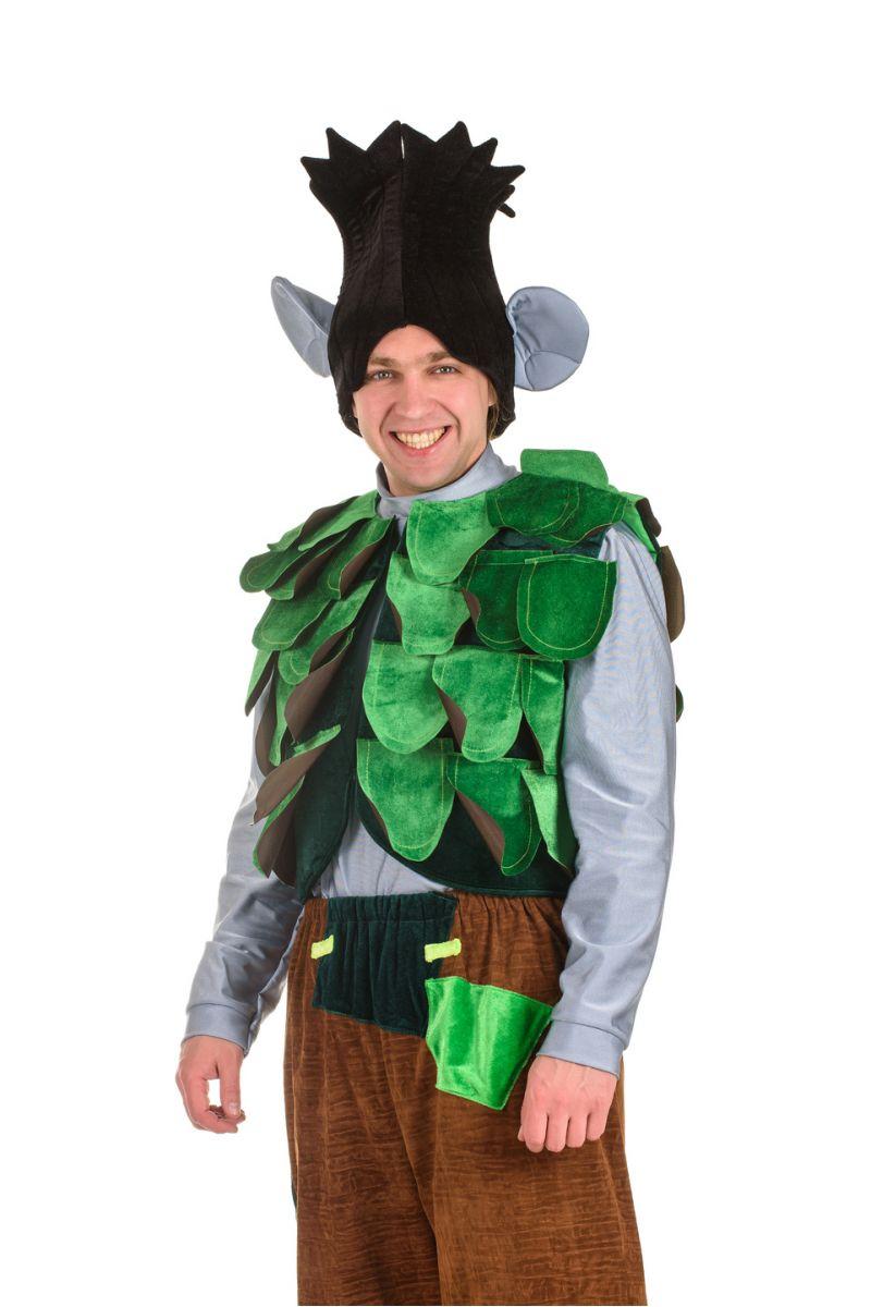 Масочка - Тролль «Цветан» карнавальный костюм для взрослых / фото №1512