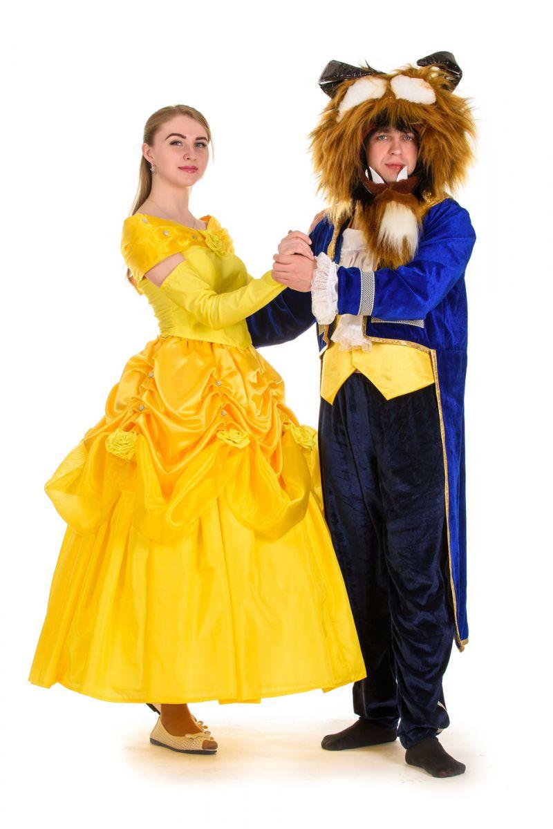 Масочка - «Белль» карнавальный костюм для взрослых / фото №1517