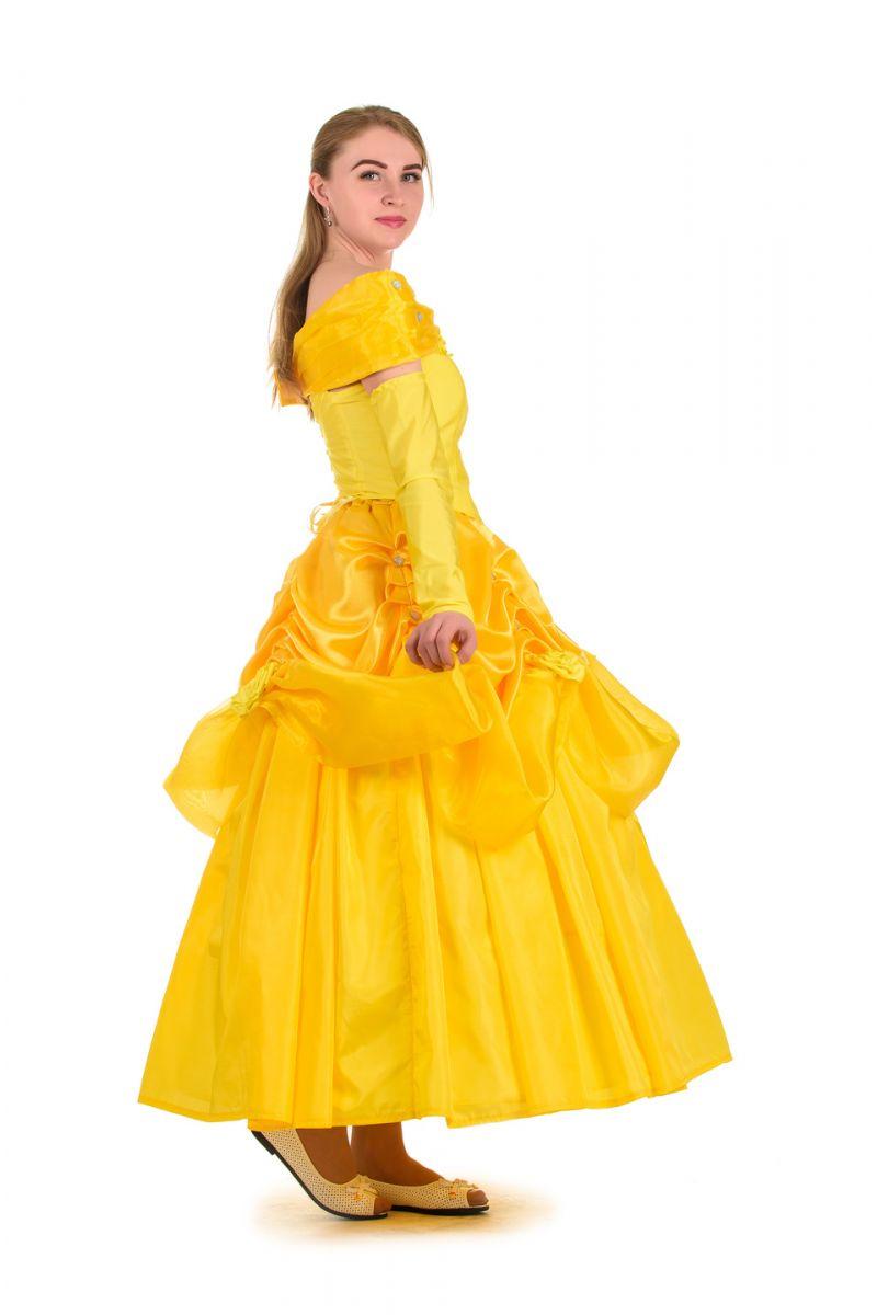 Масочка - «Белль» карнавальный костюм для взрослых / фото №1518
