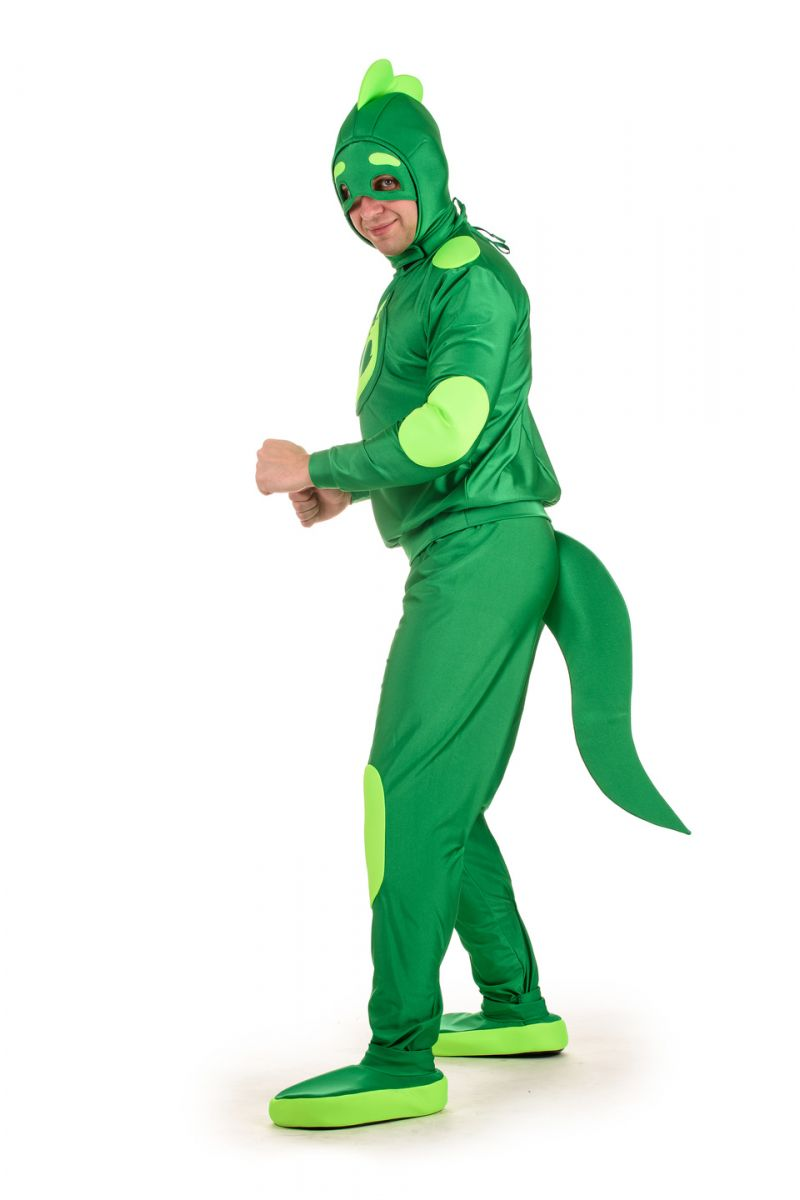Масочка - Герои в масках «Гекко» карнавальный костюм для взрослых / фото №1523