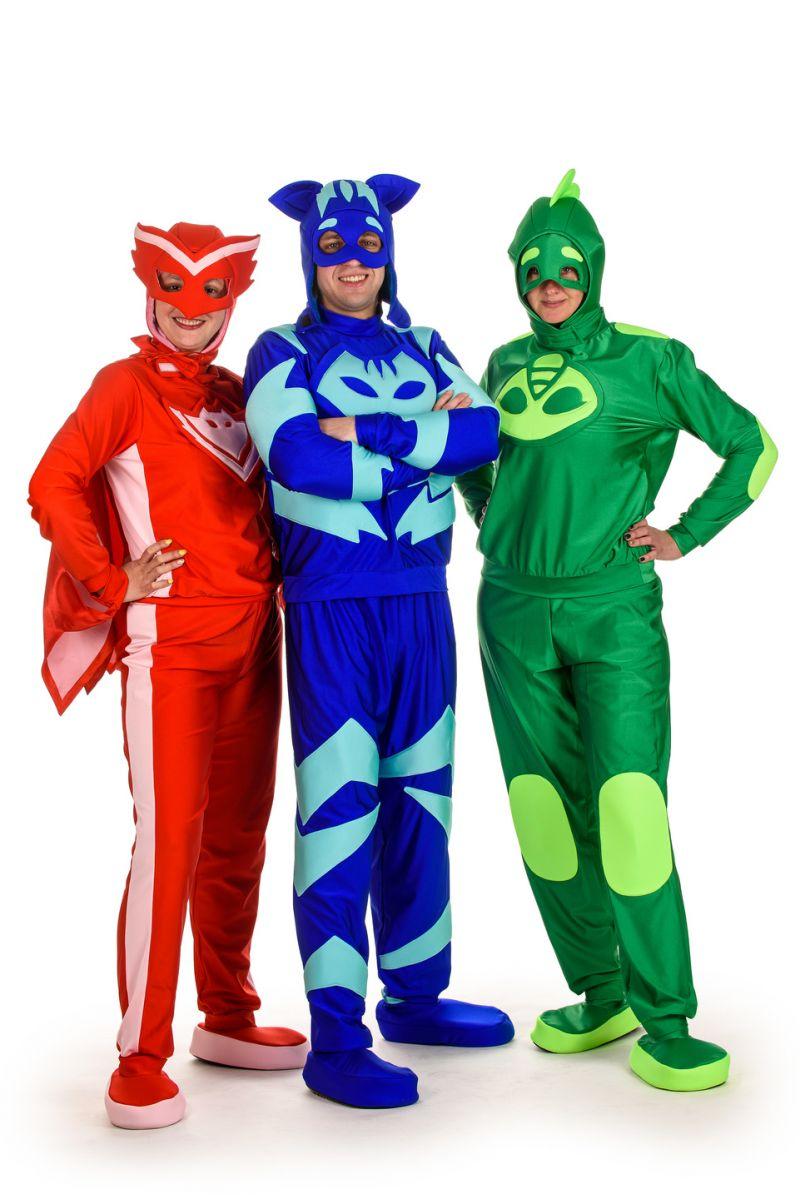 Масочка - Герои в масках «Кэтбой» карнавальный костюм для взрослых / фото №1528