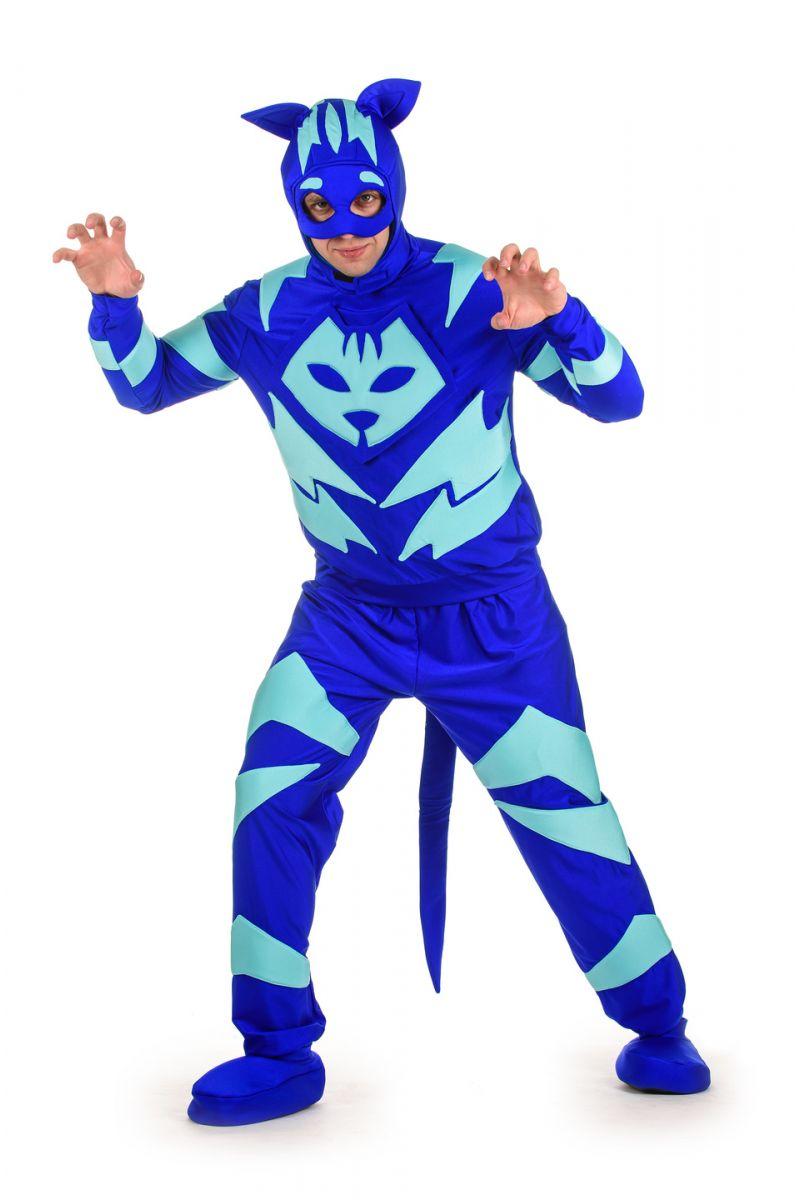 Масочка - Герои в масках «Кэтбой» карнавальный костюм для взрослых / фото №1530