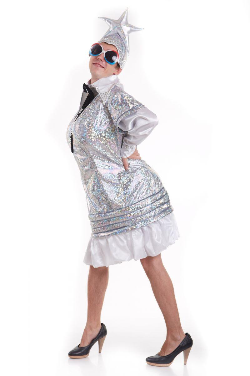 Масочка - «Верка Сердючка» карнавальный костюм для взрослых / фото №1532