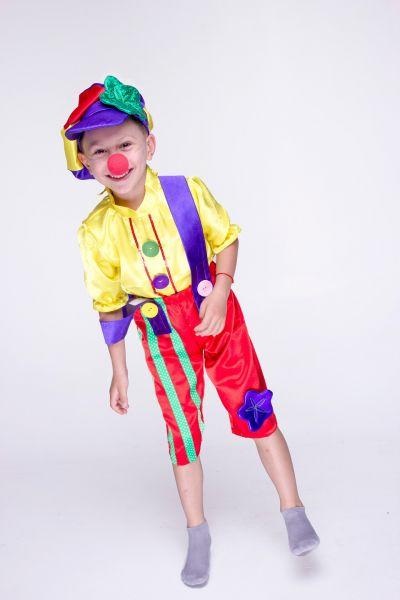 «Клоун Бим Бом» карнавальный костюм для мальчика