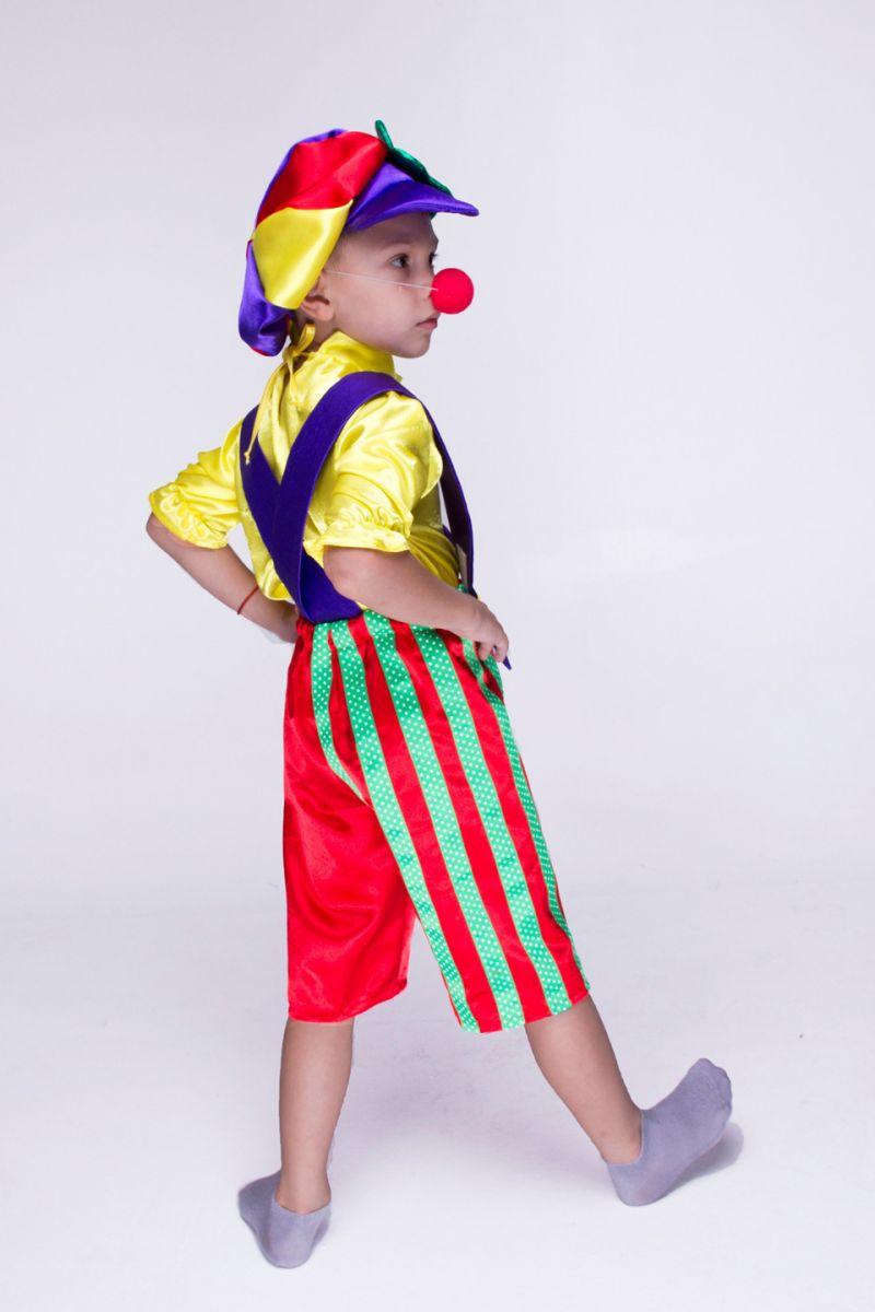 Масочка - «Клоун Бим Бом» карнавальный костюм для мальчика / фото №1546