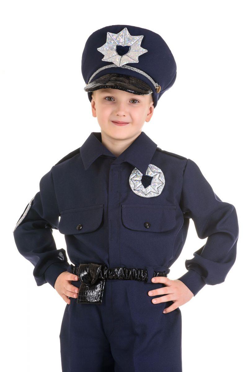 Масочка - «Полицейский» карнавальный костюм для мальчика / фото №1547