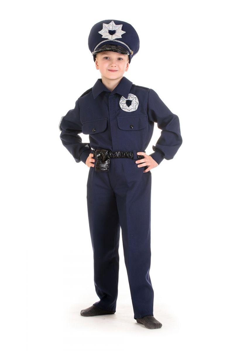 «Полицейский» карнавальный костюм для мальчика