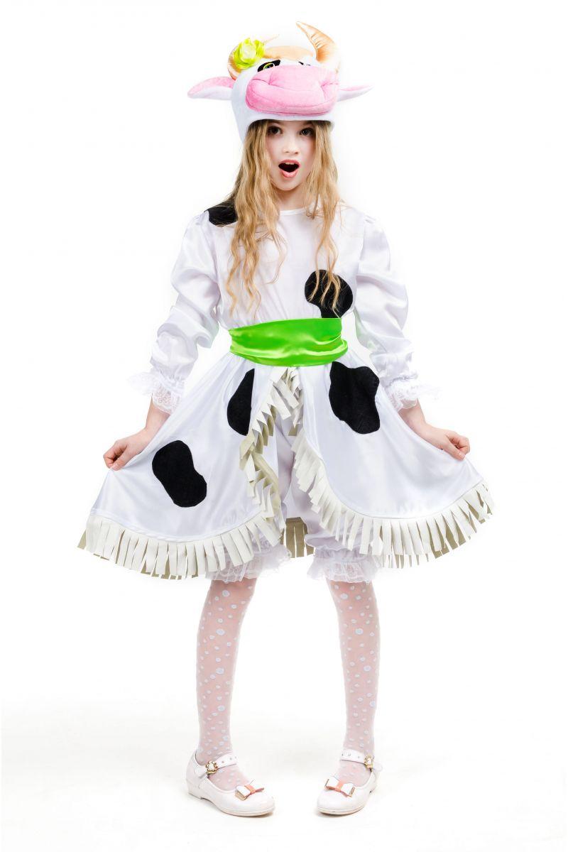 Масочка - «Буренка» карнавальный костюм для девочки / фото №1550