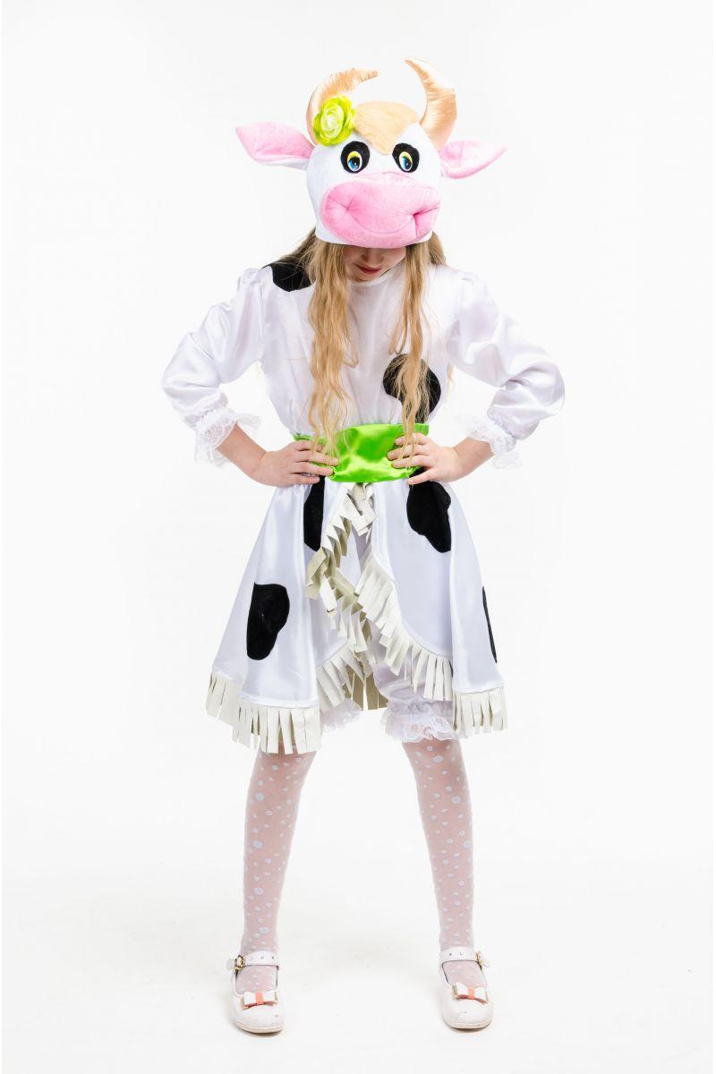 Масочка - «Буренка» карнавальный костюм для девочки / фото №1552