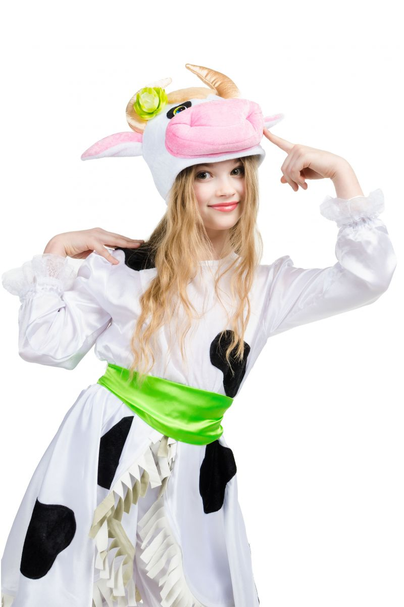 Масочка - «Буренка» карнавальный костюм для девочки / фото №1553