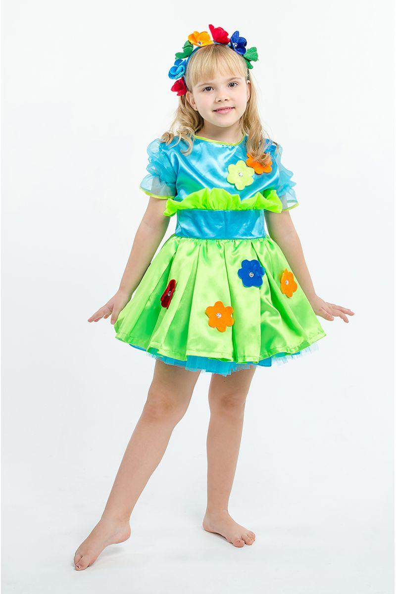 Масочка - «Букет цветов» карнавальный костюм для девочки / фото №1563