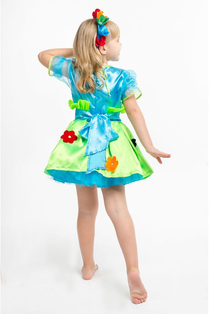 Масочка - «Букет цветов» карнавальный костюм для девочки / фото №1565