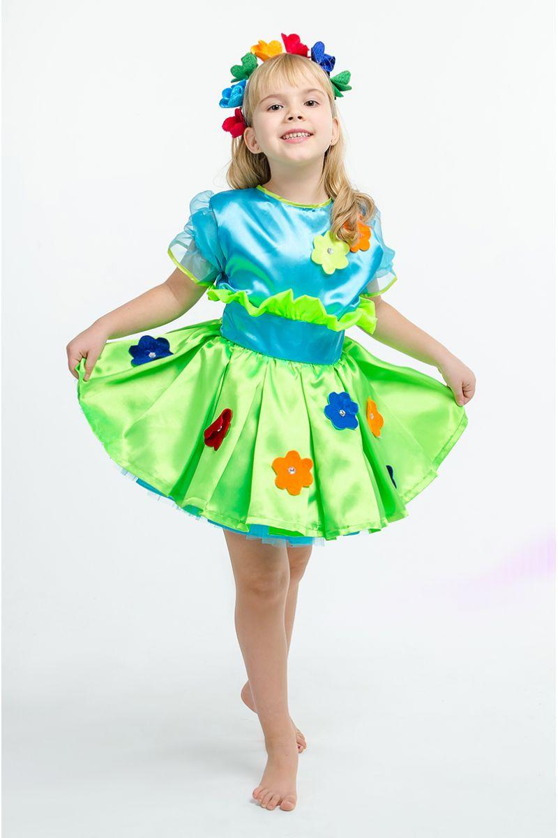 Масочка - «Букет цветов» карнавальный костюм для девочки / фото №1566