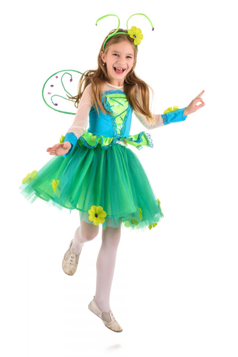 Масочка - Бабочка «Неженка» карнавальный костюм для девочки / фото №1570