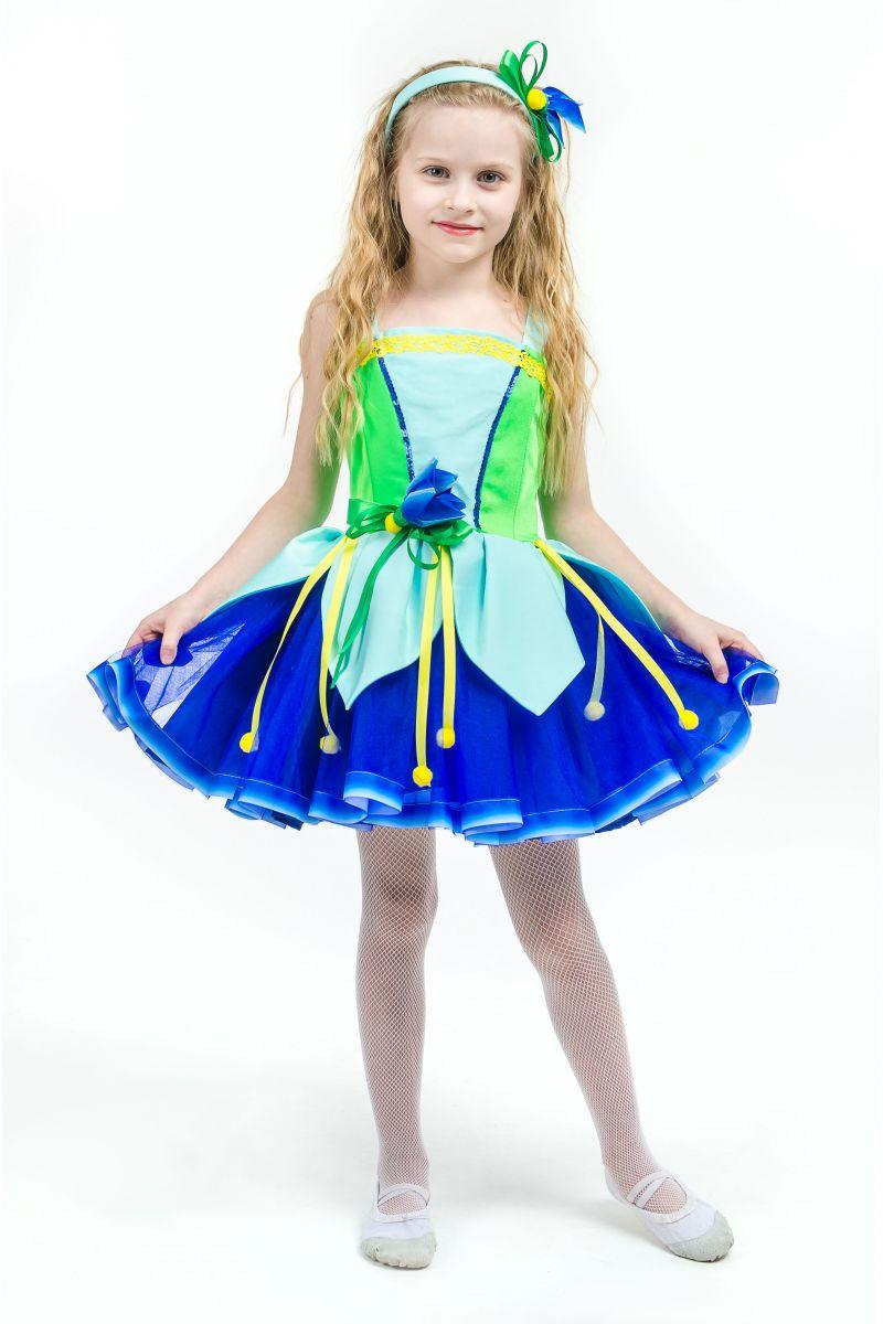 Колокольчик «Лесной» карнавальный костюм для девочки