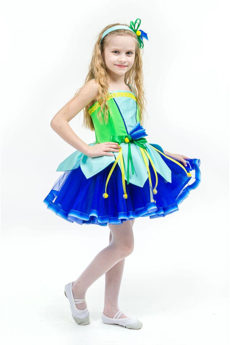 Масочка - Колокольчик «Лесной» карнавальный костюм для девочки / фото №1579