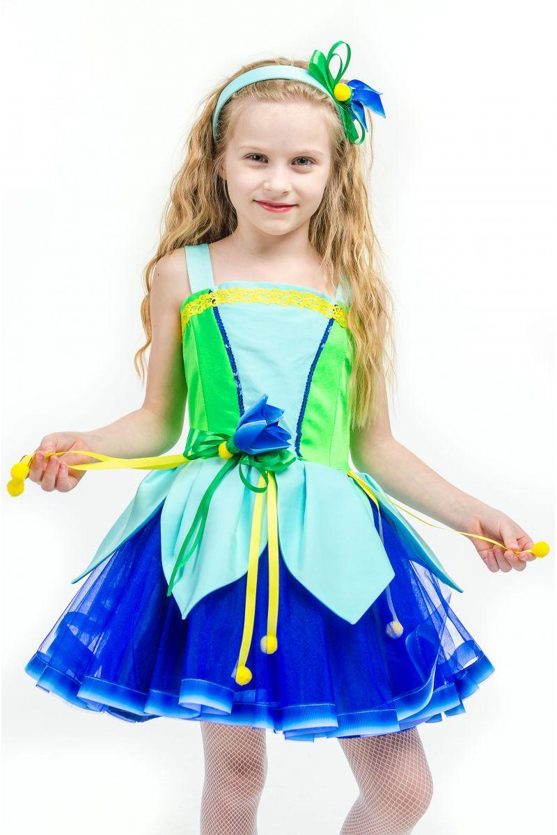 Масочка - Колокольчик «Лесной» карнавальный костюм для девочки / фото №1580