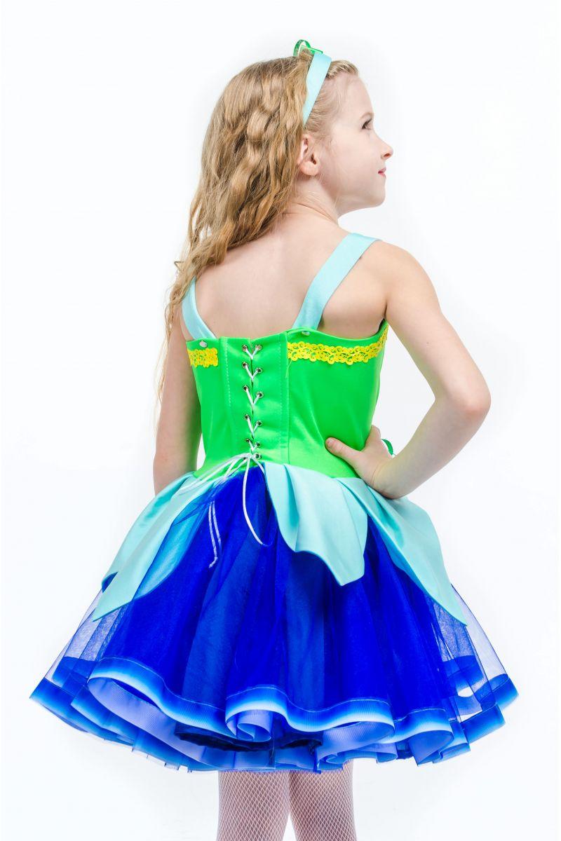 Масочка - Колокольчик «Лесной» карнавальный костюм для девочки / фото №1582