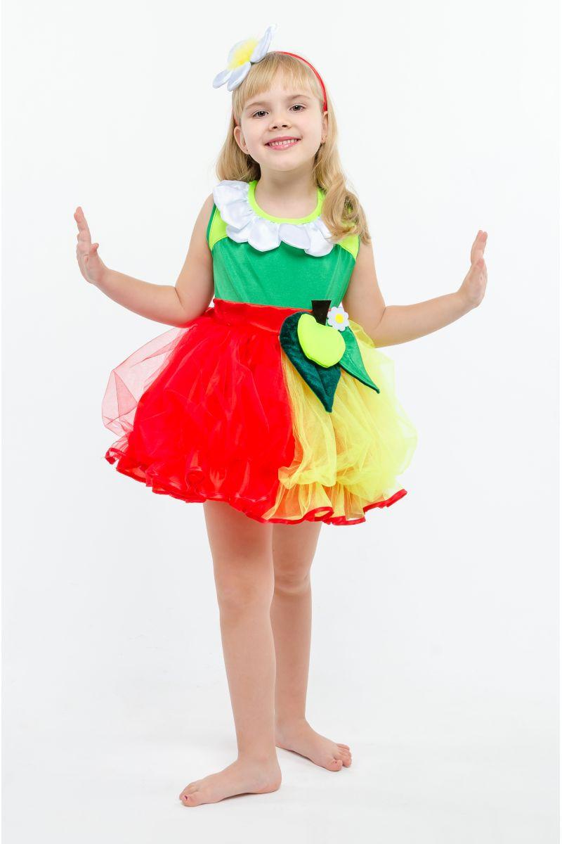 Яблочко «Румяное» карнавальный костюм для девочки