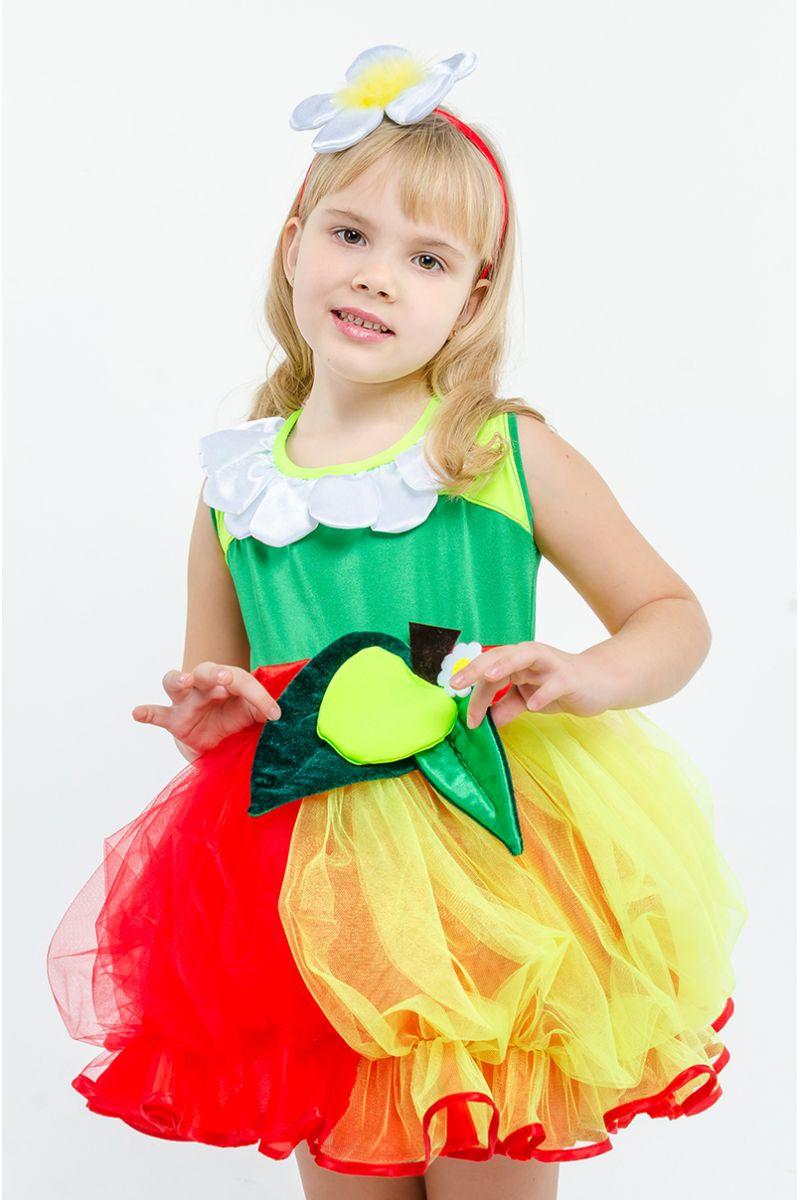 Масочка - Яблочко «Румяное» карнавальный костюм для девочки / фото №1591