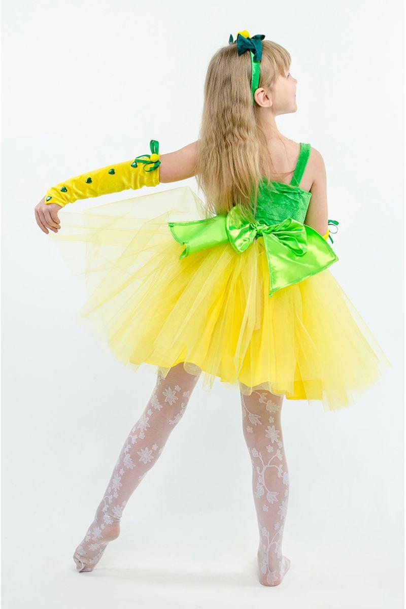 Масочка - Мимоза «Солнечная» карнавальный костюм для девочки / фото №1595