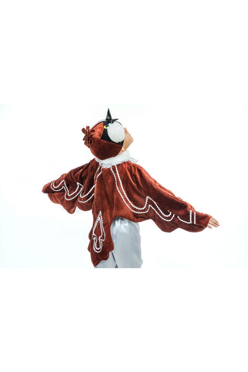 Масочка - «Воробушек» карнавальный костюм для мальчика / фото №1599