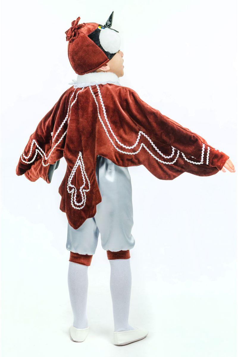 Масочка - «Воробушек» карнавальный костюм для мальчика / фото №1600