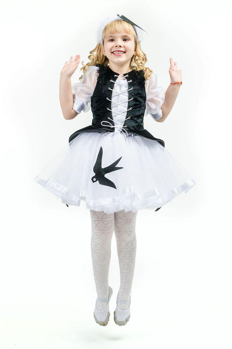 Масочка - «Ласточка» карнавальный костюм для девочки / фото №1605