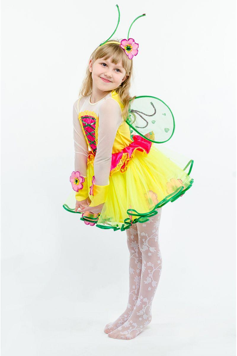 Масочка - Бабочка «Лимонница» карнавальный костюм для девочки / фото №1606