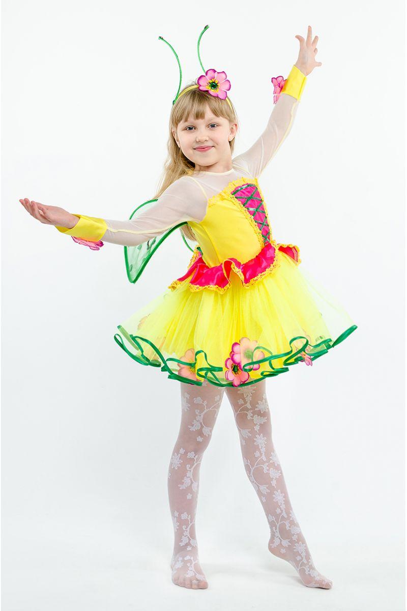 Масочка - Бабочка «Лимонница» карнавальный костюм для девочки / фото №1607