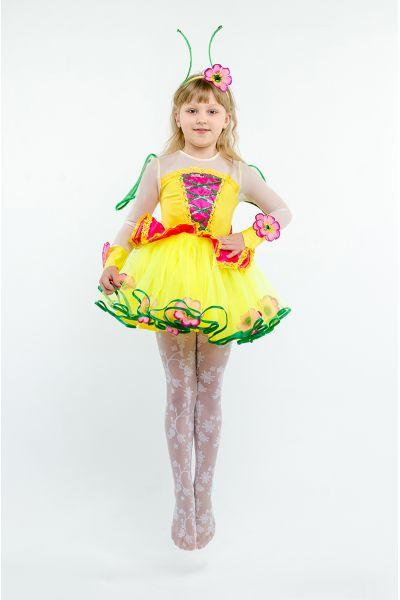 Бабочка «Лимонница» карнавальный костюм для девочки