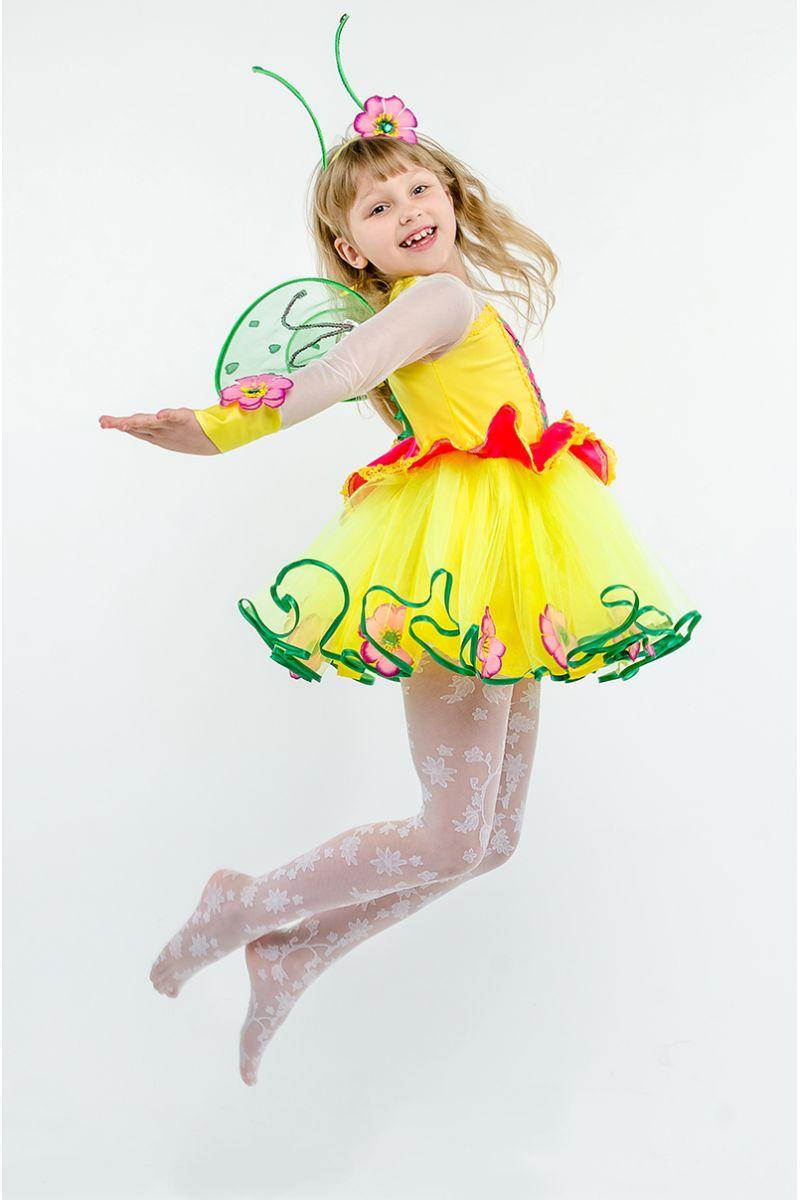Масочка - Бабочка «Лимонница» карнавальный костюм для девочки / фото №1609