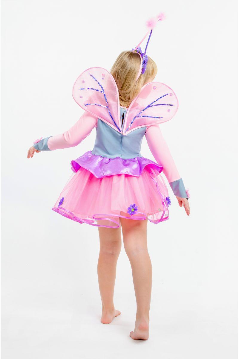 Масочка - Бабочка «Розовая» карнавальный костюм для девочки / фото №1614